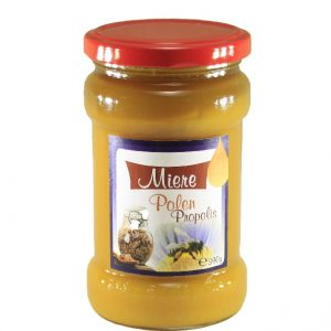 Miere cu propolis si polen